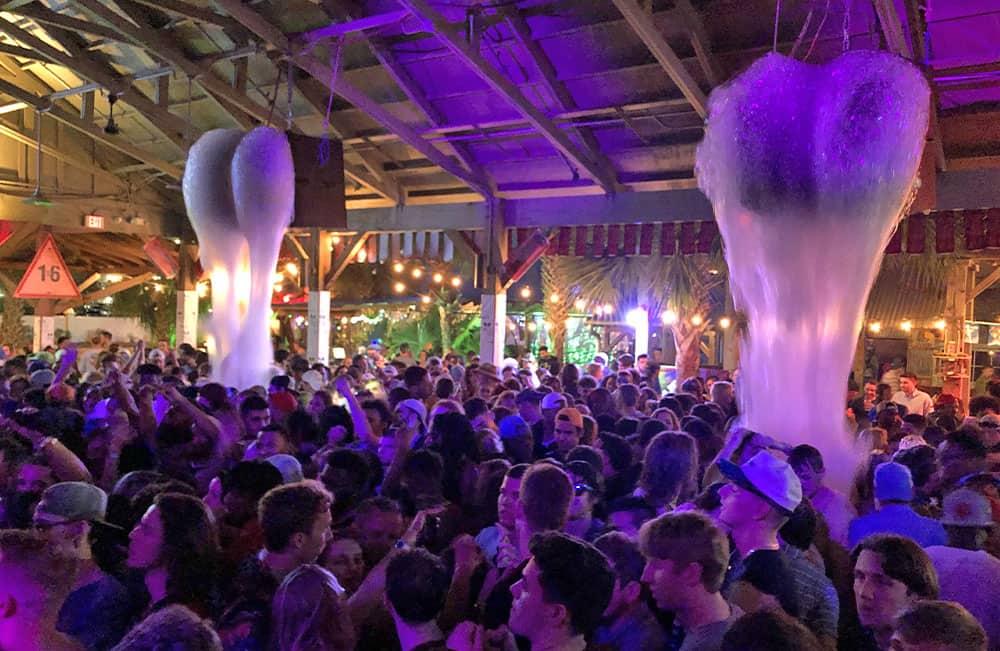 Foam Party for Spring Break in PCB