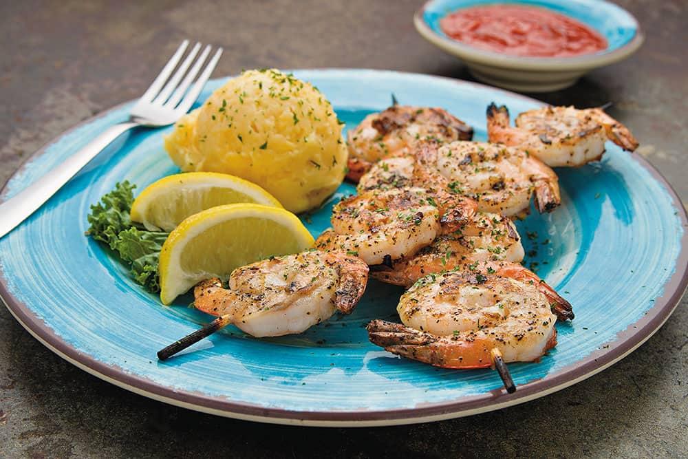 Shrimp Dinner - Fresh Gulf Shrimp served Fried, Grilled or Blackened